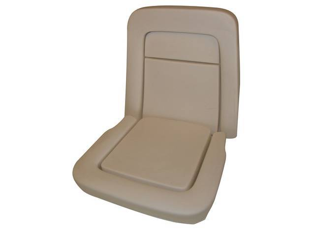 SEAT FOAM, ECONOMY STYLE, US-made, (2), ** does