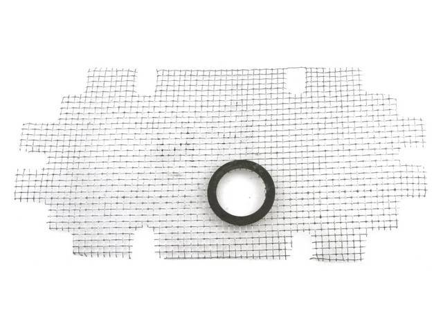 SCREEN, COWL SIDE VENT, RH, W/ CORRECT WASHERS