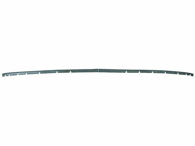 RETAINER, HEADER TRIM, UPPER WINDSHIELD TRIM