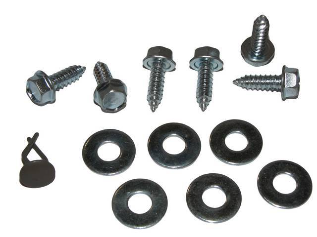 MOUNTING KIT, TO ATTACH TRUNK BOARDS