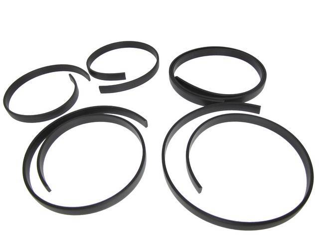 TACK STRIP KIT, HARD TOP, CONTAINS TWO 21