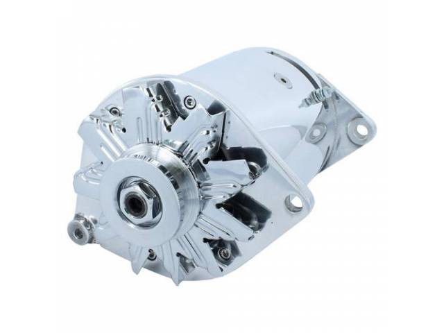 ALTERNATOR POWERGEN POLISHED 6 VOLT 60 AMP PEAK