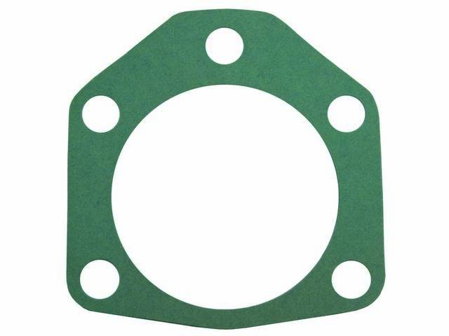 GASKET, REAR WHEEL BACKING PLATE, 4 REQD