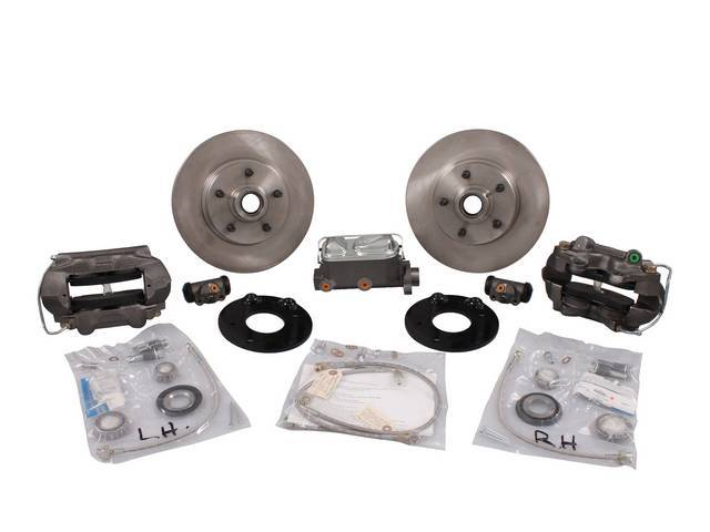 DISC BRAKE CONVERSION KIT Front This well engineered