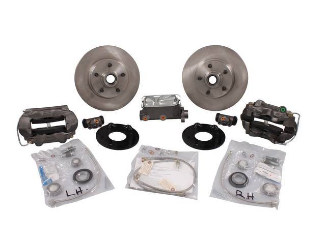 DISC BRAKE CONVERSION KIT, Front,  This well