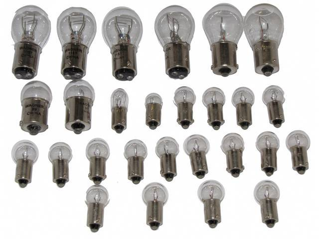 BULB KIT, INTERIOR AND EXTERIOR
