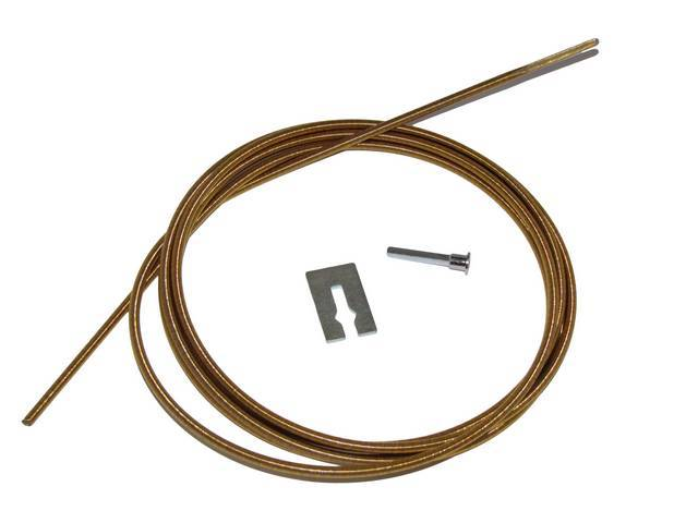 CABLE KIT, SPEEDOMETER AND TACHOMETER