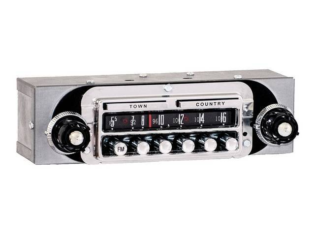 RADIO, REPRODUCTION, TOWN & COUNTRY STYLE, AM/FM ELECTRONIC