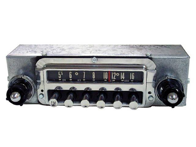 RADIO, REPRODUCTION, AM/FM ELECTRONIC IN A STOCK LOOKING