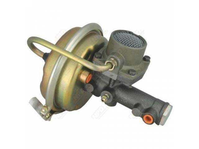 BOOSTER, Power Brake, replacement, Requires T-2420-1 tube to