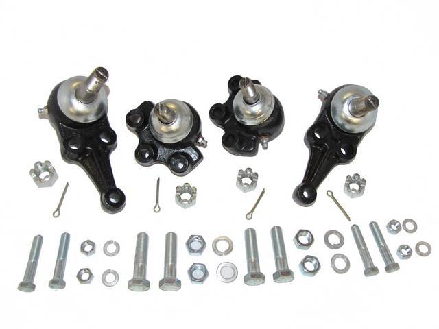 BALL JOINT KIT, UPPER AND LOWER BALL JOINTS