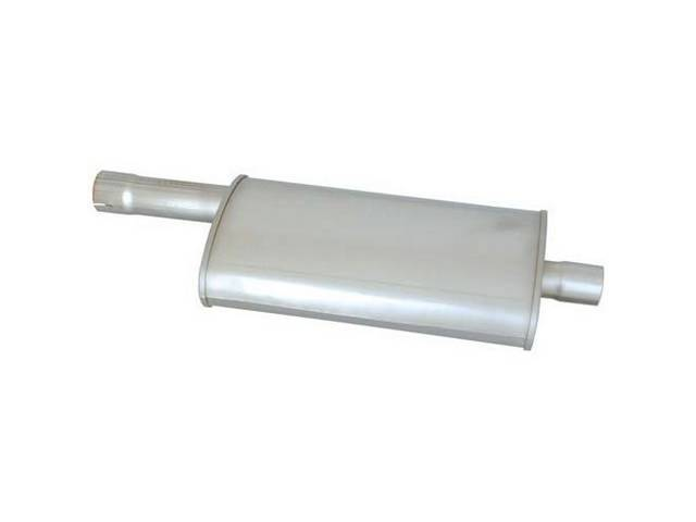 MUFFLER, STAINLESS STEEL