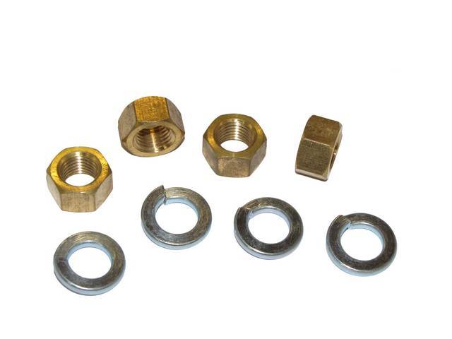 MOUNTING KIT, EXHAUST MANIFOLD NUTS AND LOCK WASHER