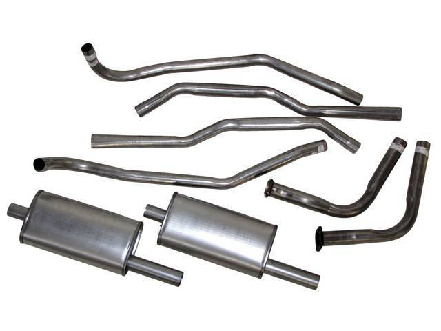 EXHAUST SYSTEM, CARBON