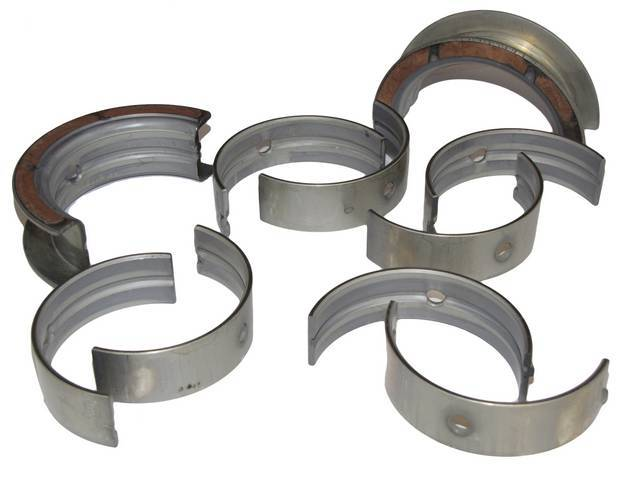 MAIN BEARING SET, .010 INCH OVERSIZE