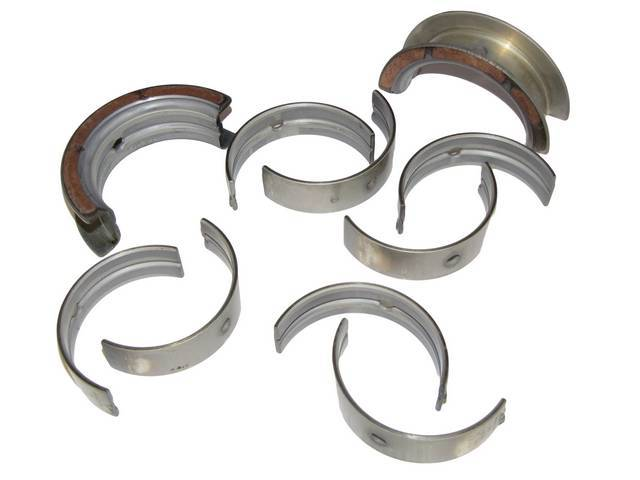 MAIN BEARING SET, .020 INCH OVERSIZE
