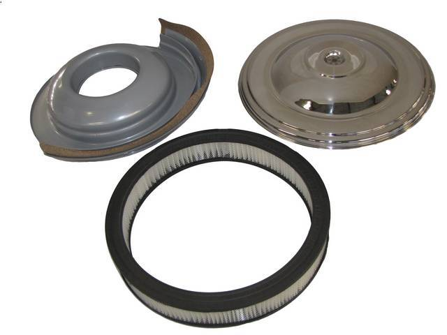 AIR CLEANER ASSY, CHROME, A CLOSE REPRO OF