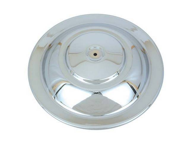 CHROME TOP, AIR CLEANER