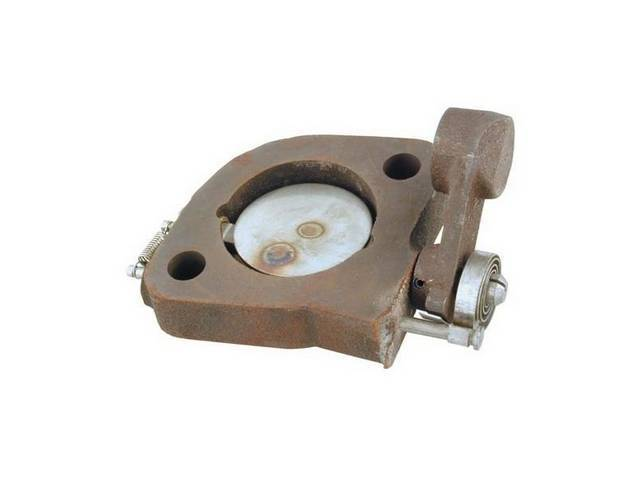 EXHAUST CONTROL VALVE, COMPLETE ASSY