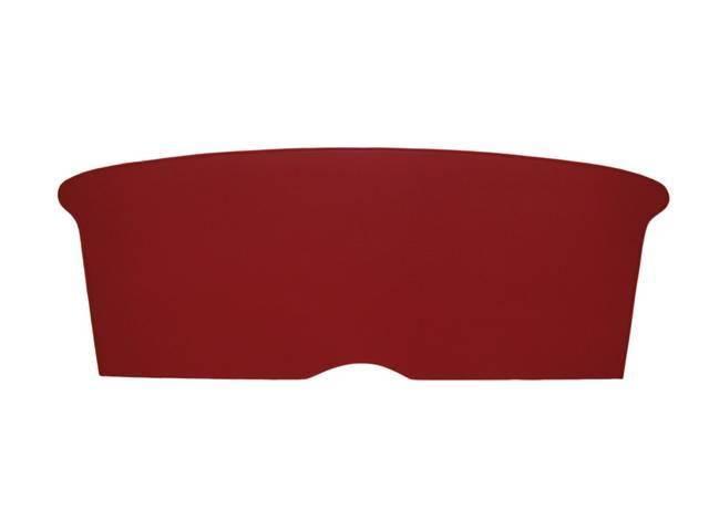BACKREST CARDBOARD, RED