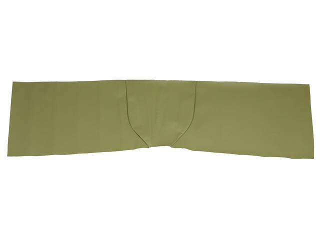 FLOOR COVER, Vinyl, sage green, wide version approximately