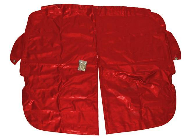 TONNEAU COVER, RED, INCL HARDWARE