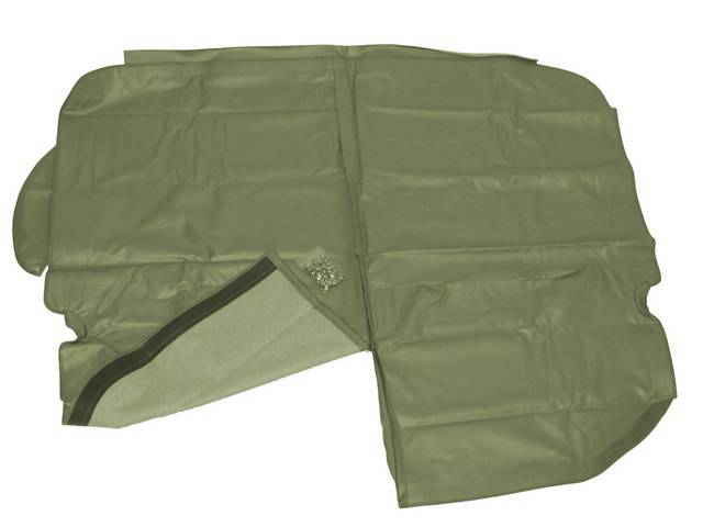 TONNEAU COVER,  GREEN, INCL HARDWARE