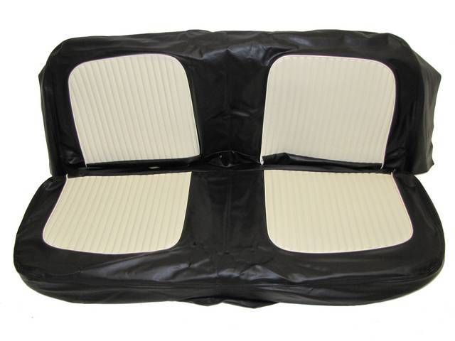 SEAT UPHOLSTERY, BLACK AND WHITE