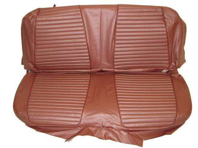 SEAT UPHOLSTERY, BRONZE, PLAIN BACK REST WITHOUT EMBOSSMENT