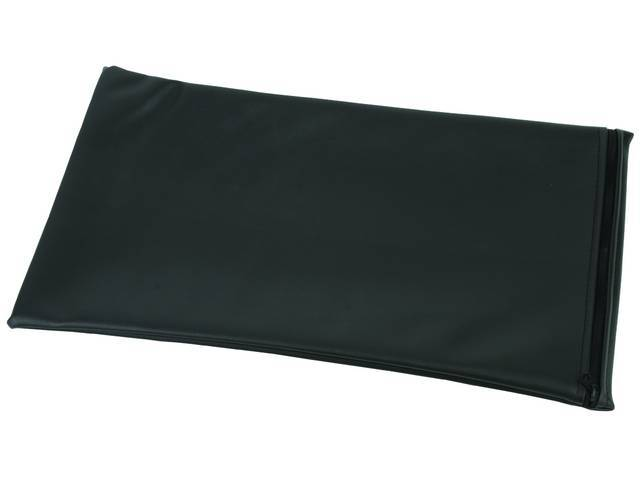 STORAGE BAG, Convertible Top Boot, Black Sierra grain