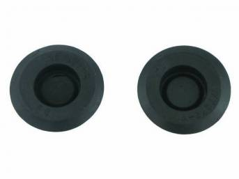 PLUG, Rubber, 3/4 inch diameter, (2), for rear