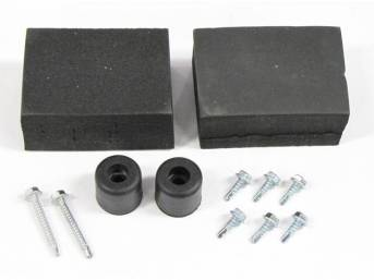 MOUNTING KIT, GRILLE VENT PANEL, OUTER
