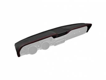 DASH PAD TMI Sport R matte black vinyl