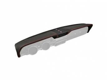 DASH PAD TMI Sport XR matte black vinyl