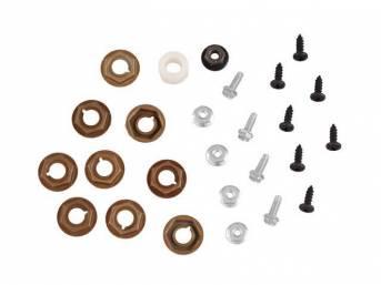 MOUNTING KIT, Instrument and Dash Trim Panels, (25),