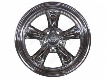 Wheel, Torq-Thrust Ii, Polished One Piece Alloy, 17