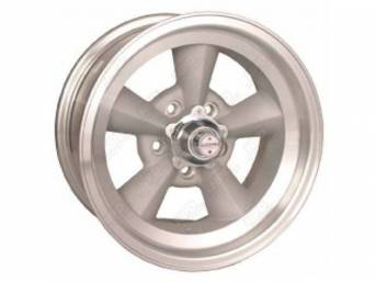 WHEEL, TORQ-THRUST ORIGINAL, NATURAL ALLOY RIM, LIGHT MAGNESIUM