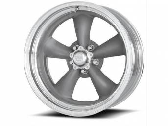 WHEEL, Torq-Thrust II Classic, natural center, polished rim,