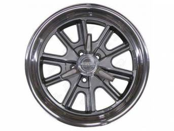 WHEEL, *SHELBY COBRA*, 17 INCH X 8 INCH,