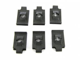 MOUNTING KIT, INSTRUMENT BEZEL, NUTS, (6), for mounting