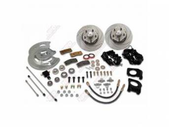 DISC BRAKE CONVERSION KIT FRONT DRUM TO DISC