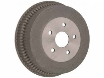 DRUM, Brake, front, replacement, 10 x 2 1/4