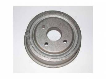 DRUM, Brake, front, replacement, 9 inch x 2
