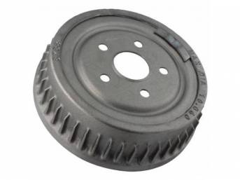 DRUM, Brake, rear, replacement, 10 inch x 2