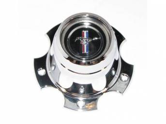 CENTER CAP, ALUMINUM WHEEL