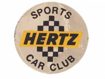 DECAL, Magnum 500 Wheel Center Cap, Shelby GT-350H,