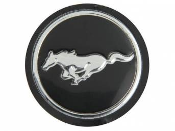INSERT, Hub Cap Center, Magnum 500, running horse