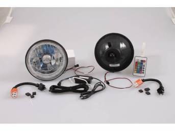 BULB SET, Halo LED Turn Signal, 7 inch,