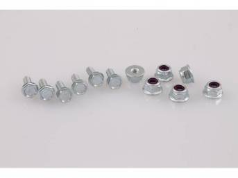 MOUNTING KIT, Headlight Support, (12), screws and nuts,