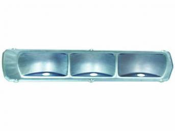 BODY, Taillight, repro, steel, pair, reflective coating, for